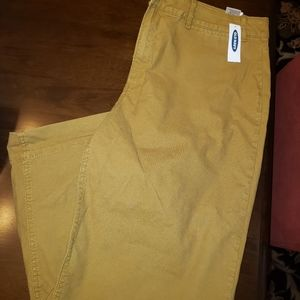 Old navy mid rise khakis